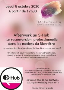 afterwork, s-hub, moselle, massage bien-être